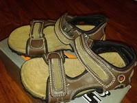 сандали для мальчиков, кожа, фирма Active Kids, 32 размер
