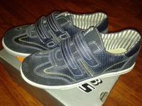Sneaker Zalando, 34 размер, замш+кожа