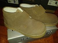 детские ботинки, кожа, размер 30, замш