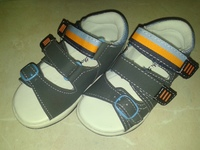 детские сандали для мальчиков, фирма Bobbi Shoes размер 21