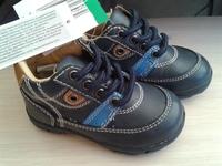 ботинки детские, 21 размер, кожа