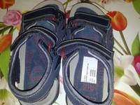 сандали синие для мальчиков, фирма Clarks Sandaletten Jungs blau размер 33 Outdoor