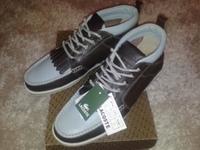 туфли-полуботинки Lacost 42 размер, кожа