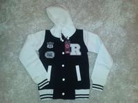 """Куртка """"Оксфорд"""" детская 7-8 лет, цвет черно - белый, рост 128-134"""