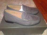 Мокасины мужские Harrykson Light grey, 41 размер, кожа, страна Производитель Англия, Супер-качество!