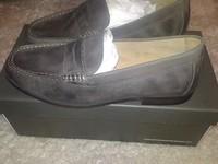 Мокасины мужские Harrykson темно серые, 42 размер, кожа, страна Производитель Англия, Супер-качество!