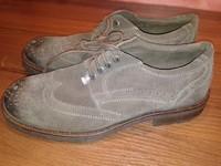 Туфли мужские кожаные Sioux коричневые, 43,5 размер, кожа, Германия, Супер-качество!