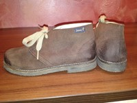 Ботинки для мальчика, Jonnys, замш 32 размер